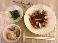 和風蛤蜊煮魚(露營ok)
