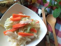 台式高麗菜泡菜─福壽純芝麻油玩料理