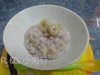 寶寶副食品-香蕉母奶粥
