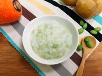 【寶寶副食品】毛豆馬鈴薯藜麥粥
