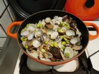 Le ceruset蛤蜊毛豆炊飯