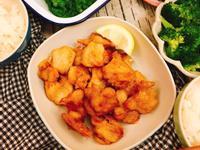 水波爐料理-鮮嫩多汁的日式炸雞唐揚