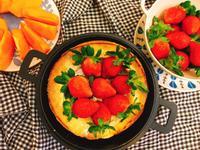 草莓季限定!低糖版草莓荷蘭鬆餅~