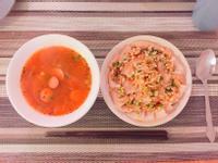 起司熱狗番茄洋蔥湯