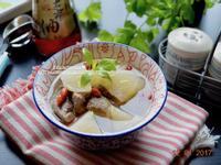 清燉蘿蔔肉湯【福壽純芝麻油玩料理】