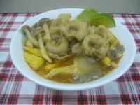 泰式酸辣魚餃湯
