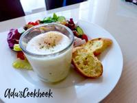[美式早餐] 奶油溫泉蛋馬鈴薯泥
