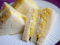 ♫【深夜食堂】雞蛋沙拉三明治「タマゴサンド」