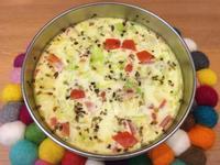 【寶寶食譜】高麗菜燕麥蒸蛋