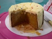英式胡蘿蔔蛋糕配忌廉起司奶霜