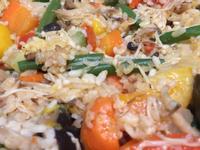 鑄鐵鍋到底橄欖油蔬菜炊飯(清爽型)
