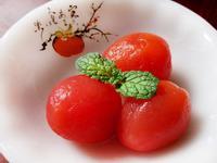 果醋蜜釀小番茄★去膩的簡易小點