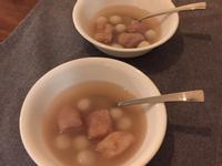芋頭甜湯配小湯圓