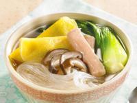 燕餃粉絲湯