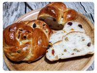 果乾花型麵包