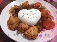 日式唐揚炸雞咖哩飯