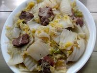 白菜鹹豬肉