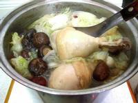 香菇白菜雞湯
