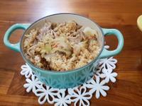 鑄鐵鍋高麗菜飯(節能版)
