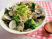低卡蛤蜊蕎麥麵