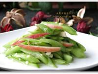 [涼拌蘋果小黃瓜]開胃涼拌菜 簡易家常菜