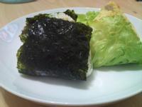 小米愛呷-咖哩摘鮮綠&海苔龍鬚菜飯糰