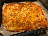 超簡單脆皮海鮮披薩