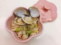 方便營養*電鍋蒜香蛤蜊毛豆炊飯