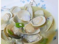 日式酒蒸蛤蠣