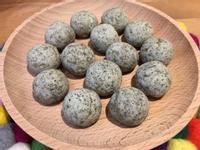【寶寶食譜】芝麻豆腐小Q球(無油)