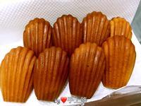 低熱量椰子油版《瑪德蓮蛋糕》