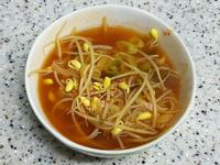 (韓式)辣泡菜荳芽湯 김치콩나물국