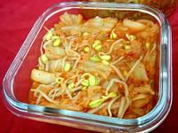 泡菜黃豆芽