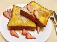 法式厚吐司佐蜂蜜鮮草莓🍓