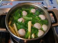 蔬菜貢丸湯