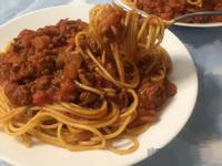 鮮蕃茄肉醬義大利麵