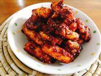 韓式年糕炸雞(紅醬)一簡單下酒菜