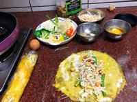 蔬菜蛋餅捲