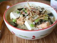 深夜食堂~鮭魚味噌飯定食