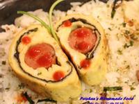 熱狗海苔雞蛋捲