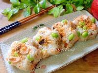 鮭魚飯糰(電子鍋版)