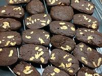 巧克力磚核桃餅乾