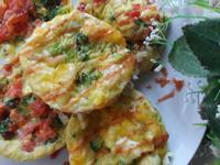 營養早餐 ~ 蔬菜蛋杯