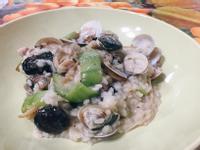 絲瓜蛤蜊燉飯