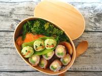 春天的豌豆寶寶便當