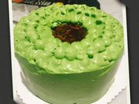 小山園抹茶戚風蛋糕