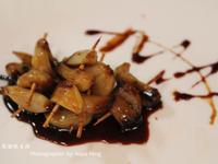 【簡單做菜】在家自己做下酒菜。蒜串