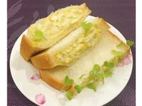 蛋沙拉口袋土司