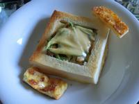 法式鮪魚棺材板(厚片土司)