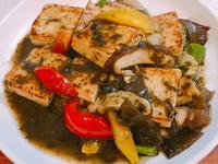 橄欖醬燒豆腐~全素